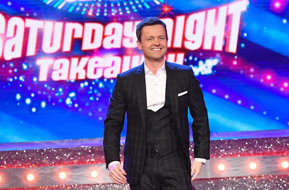 Dec takes charge of the show for the first time ever, after Ant's drink driving arrest, (REX)