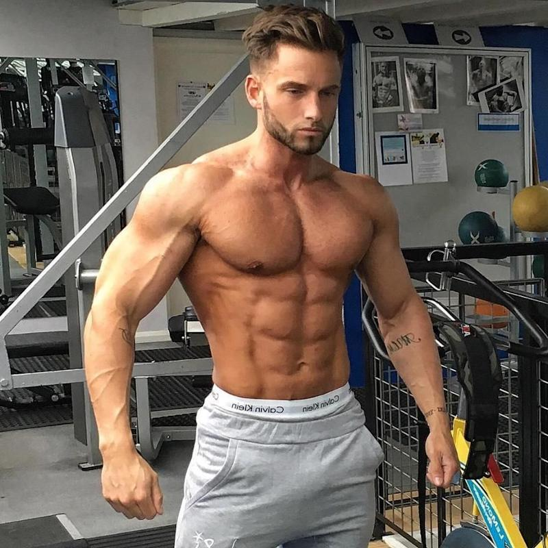 David Lundy, 26, who is a fitness model is also a contestant of the new reality show. Source: mrdavidlundy/Instagram