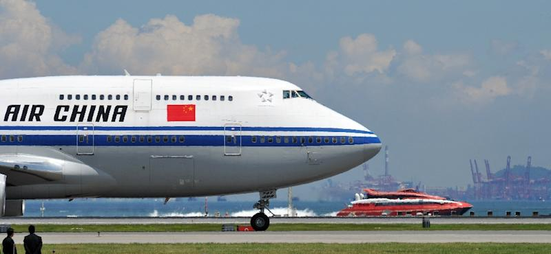 Chinese state broadcaster CCTV has reported that Air China has suspended its Beijing-Pyongyang route