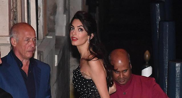 Amal Clooney at the 74th Venice Film Festival on Aug. 31. (Photo by Photopix/GC Images)