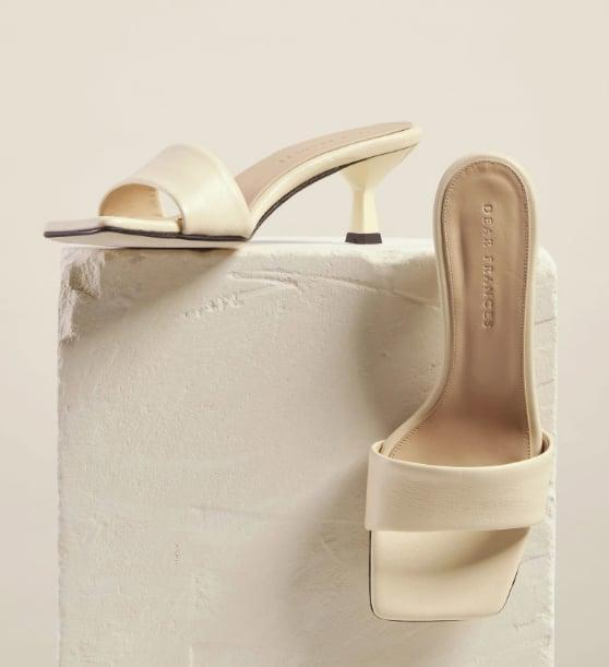 "<p>Sleek and timeless, these will go with everything from denim to dresses.</p> <p><a href=""https://www.popsugar.com/buy/Dear-Frances-Cove-Heel-573321?p_name=Dear%20Frances%20Cove%20Heel&retailer=dearfrances.com&pid=573321&price=325&evar1=fab%3Aus&evar9=47446893&evar98=https%3A%2F%2Fwww.popsugar.com%2Ffashion%2Fphoto-gallery%2F47446893%2Fimage%2F47463233%2FDear-Frances-Cove-Heel&list1=sandals%2Cshoes%2Ctrends%2Csummer%2Cfashion%20shopping&prop13=api&pdata=1"" class=""link rapid-noclick-resp"" rel=""nofollow noopener"" target=""_blank"" data-ylk=""slk:Dear Frances Cove Heel"">Dear Frances Cove Heel</a> ($325)</p>"