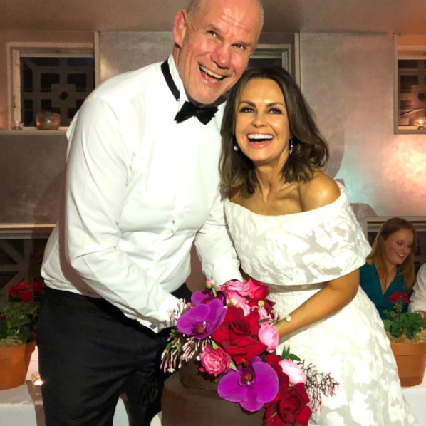 It's been a big few weeks for Lisa as she recently married her hubby Peter FitzSimons for the second time to celebrate their 25th wedding anniversary. Source: Instagram