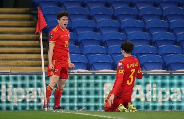 Manchester United's Daniel James and Neco Williams of Liverpool would miss the Euros