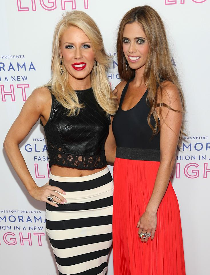 LOS ANGELES, CA - SEPTEMBER 12: Television personalities Gretchen Rossi (L) and Lydia McLaughlin attend Glamorama presented by Macy's Passport at Orpheum Theatre on September 12, 2013 in Los Angeles, California. (Photo by Imeh Akpanudosen/Getty Images)