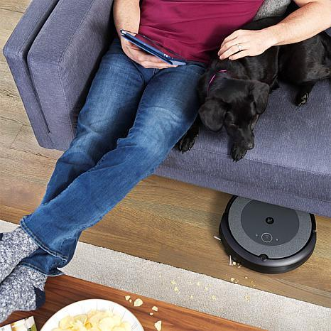 iRobot Roomba i3 Wi-Fi Connected Robotic Vacuum with Virtual Wall (Photo: HSN)