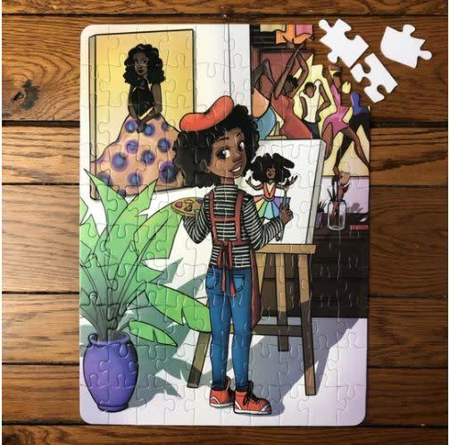 "Puzzle Huddle, started by a young couple, aims to allow all children to see themselves in their toys. The company offers puzzles appropriate from toddlers on up. <a href=""https://puzzlehuddle.com/"" rel=""nofollow noopener"" target=""_blank"" data-ylk=""slk:Buy them here"" class=""link rapid-noclick-resp"">Buy them here</a>."