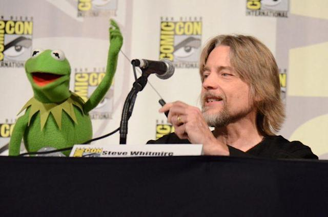 Steve Whitmire, former voice of Kermit the Frog, at Comic-Con. (Photo: AP)