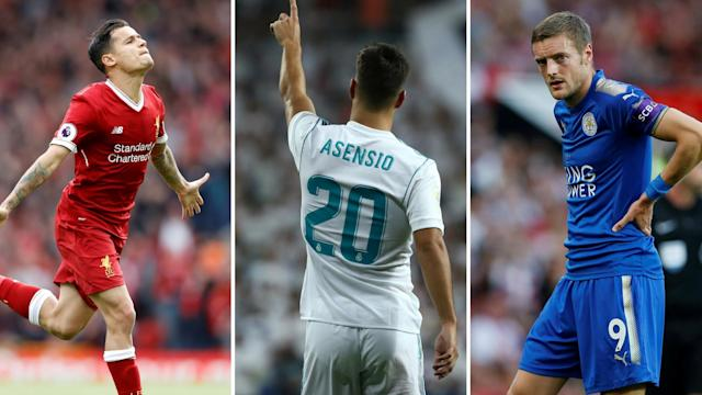 Vardy, Asensio and Coutinho are all being linked with moves