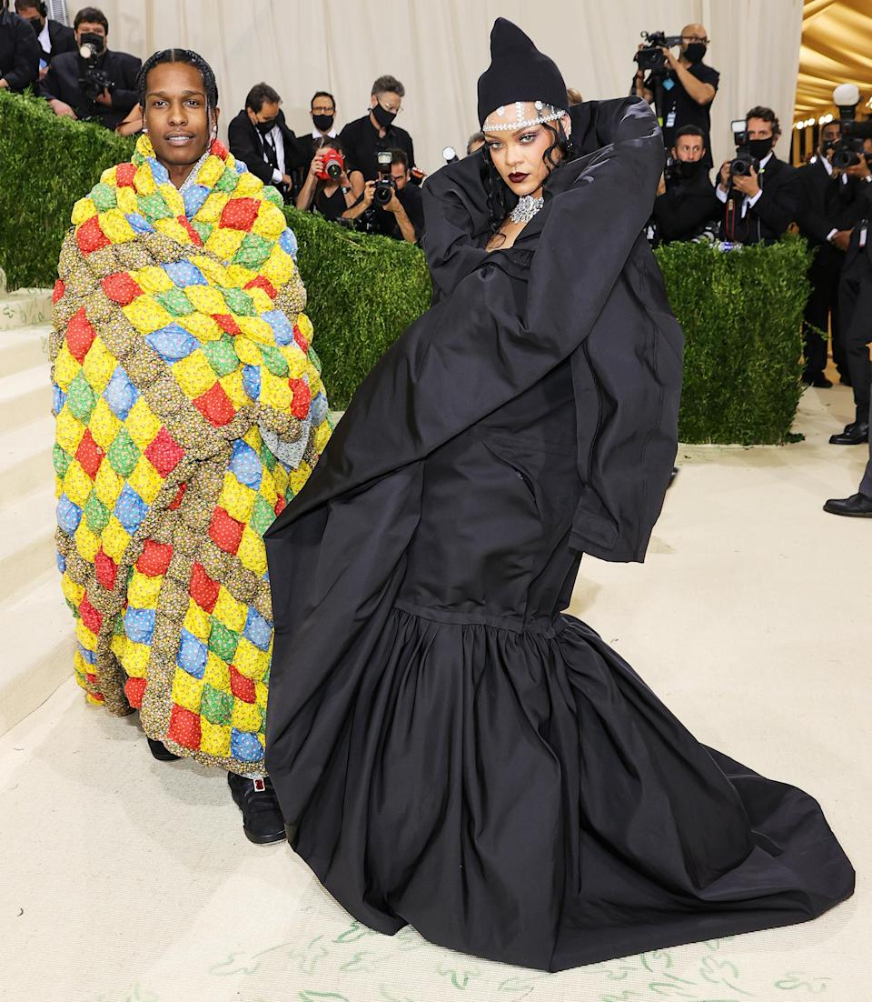 <p>made their Met Ball debut in a surprise late-night entrance!</p>