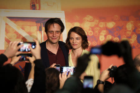 """72nd Cannes Film Festival - News conference for the film """"A Hidden Life"""" in competition"""