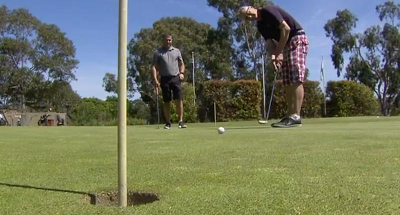 60-million-to-one shot! Club golfer bags two aces