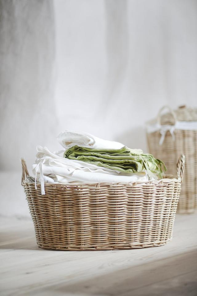 "<p>The new collection features several beautiful woven baskets, including a fabric-lined laundry basket. All priced under $30, these affordable baskets are bound to appear in beach houses, farmhouse-style homes, and rustic abodes across the country. </p> <p><strong>To buy: </strong>From $25, <a href=""https://www.ikea.com/ch/en/news/borstad-limited-collection-pub70be37f0"" target=""_blank"">ikea.com</a>. </p>"