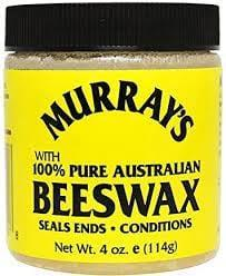 """<p>""""Textured hair types have the advantage of being able to take heavier products on their hair, and so the <span>Murray's 100% Pure Australian Beeswax</span> ($7) is great for styling as it holds without crunch or tackiness,"""" Hersheson said.</p>"""