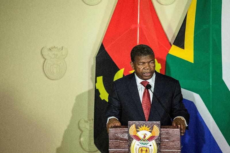 """Nobody is above the law"" -- since his appointment in August, Angola's President Joao Lourenco has sought to root out corruption (AFP Photo/GIANLUIGI GUERCIA)"