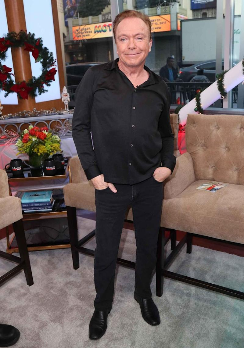 David Cassidy (pictured here in December last year) has passed away aged 67. Source: Getty