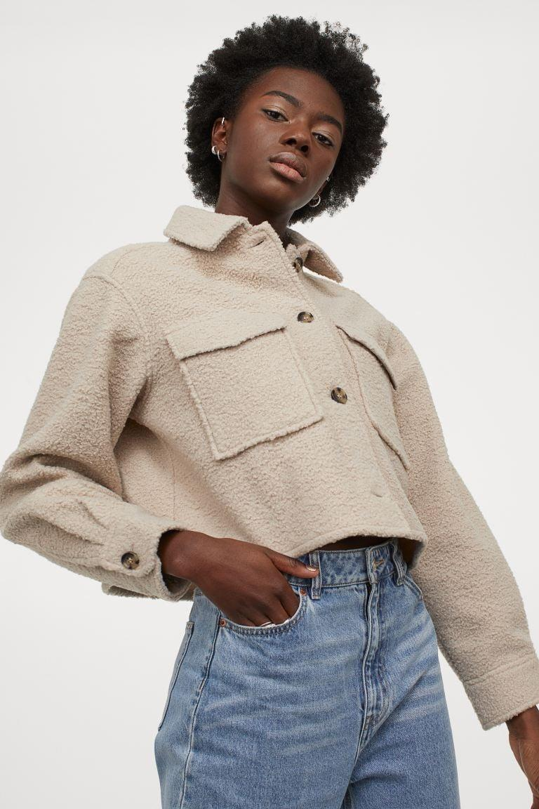 <p>This <span>Crop Shirt Jacket</span> ($40) doubles as a stand-alone top.</p>