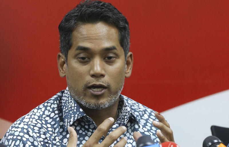 DAP's Liew Chin Tong suggests Rembau MP Khairy Jamaluddin (pic) quit Umno to form a new multiethnic party. — Picture by Azneal Ishak
