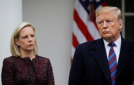 Department of Homeland Security Secretary Kirstjen Nielsen leaving administration