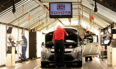 United Kingdom auto output falls at fastest rate since recession