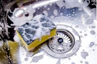 """<p>Sponges are bacteria breeding grounds. Clean yours every few days with a five-minute soak, made with a mix of three tablespoons of chlorine bleach and one quart of water, suggests Jennings in <em><a href=""""https://www.amazon.com/Good-Housekeeping-Simple-Organizing-Wisdom/dp/1618372785"""" rel=""""nofollow noopener"""" target=""""_blank"""" data-ylk=""""slk:Simple Organizing Wisdom"""" class=""""link rapid-noclick-resp"""">Simple Organizing Wisdom</a></em>. Zap germs by microwaving the sponge for one or two minutes. Always toss your sponge when it starts to smell, though. </p>"""