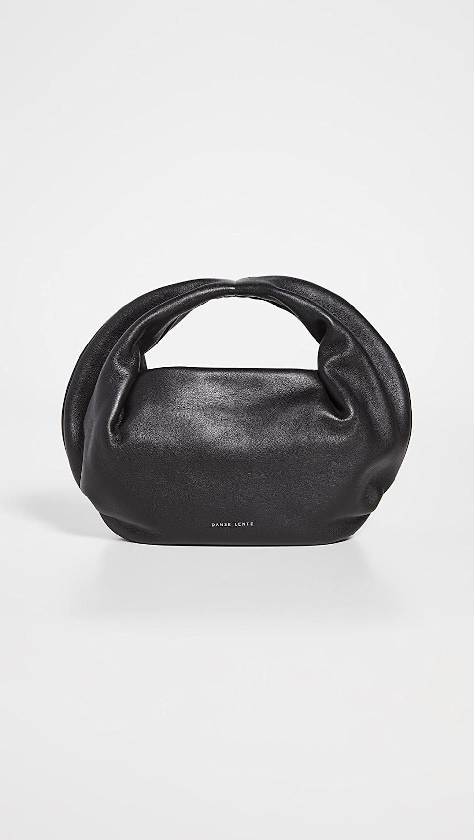 <p>This <span>Danse Lente Lola Bag</span> ($325) is so on-trend, and it holds just the essentials.</p>