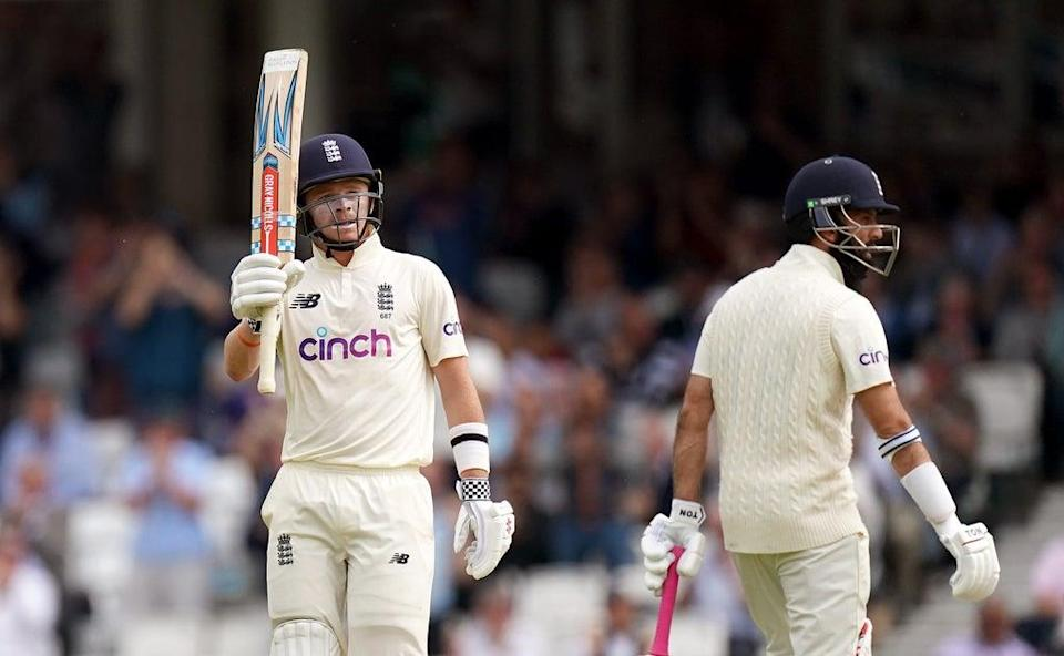Ollie Pope helped put England in a strong position (Adam Davy/PA) (PA Wire)