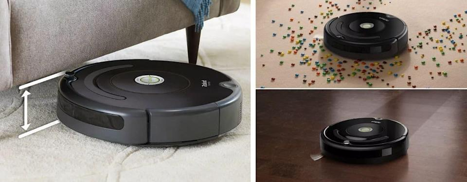 roomba 675 cleaning floors