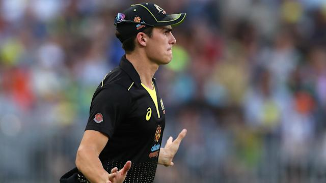 Australia's emphatic win over Pakistan featured the return of Sean Abbott, who was proud to be back playing international cricket.