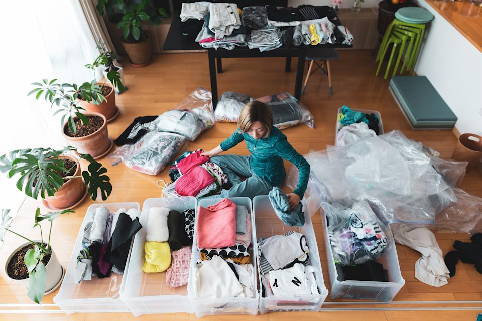 The one downside to all the gifting and giving that comes with the holidays, is the unavoidable clutter.  (Photo: Getty Images)