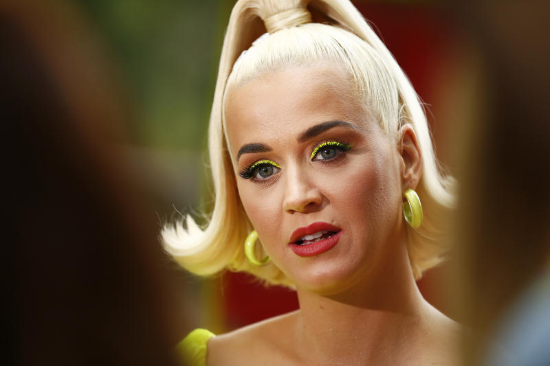 Katy Perry is opening up about her mental health. (Photo: Daniel Pockett/Getty Images)