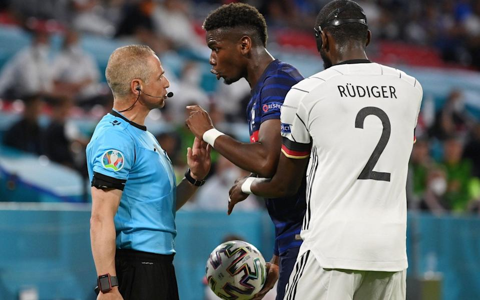 Pogba wasn't best pleased at the time - REUTERS