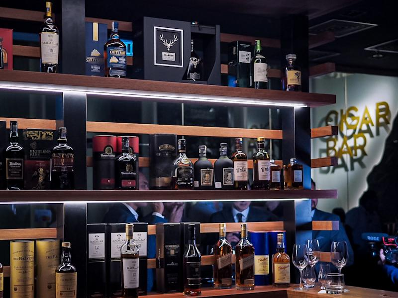 Cigar Bar also offers wide range of quality spirits and wines. — Picture courtesy of Cigar Bar