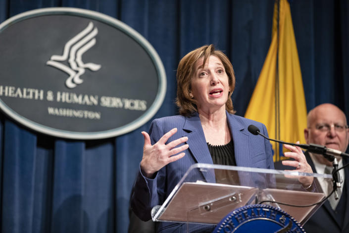 Nancy Messonnier, director of the National Center for Immunization and Respiratory Diseases. (Samuel Corum / Getty Images)