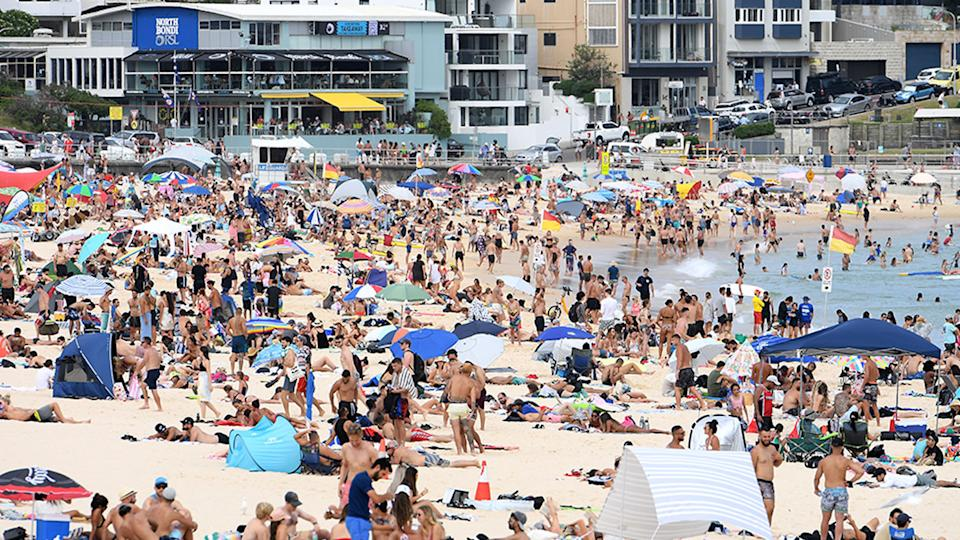 Sydney recorded its hottest Australia Day since 1960. Source: AAP
