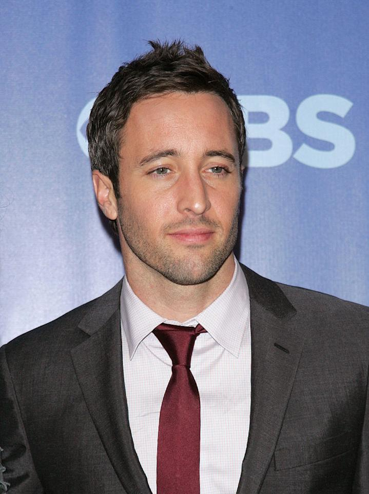 "<a href=""/alex-o-39-loughlin/contributor/1246622"">Alex O'Loughlin</a> (""<a href=""/hawaii-five-o/show/46551"">Hawaii Five-O</a>"") attends the 2010 CBS Upfront at The Tent at Lincoln Center on May 19, 2010 in New York City."