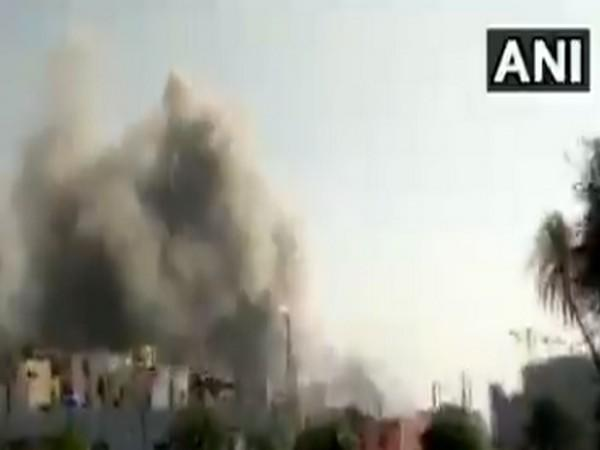 As many as 10 fire tenders were rushed to at Serum Institute of India (SII) in Pune, where a fire broke out at Terminal 1 gate.