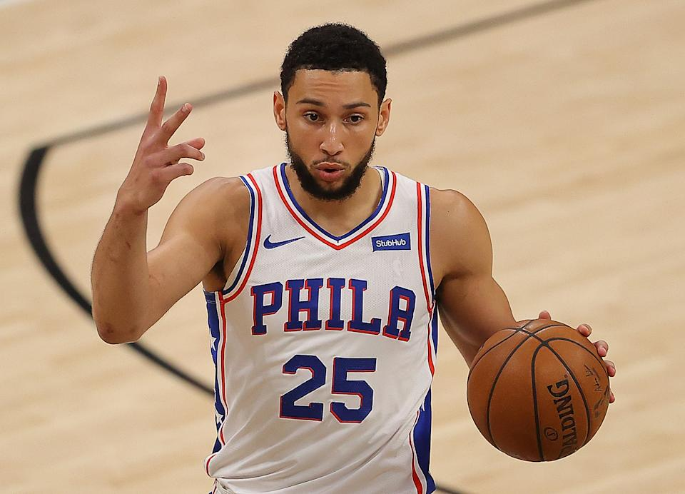 Ben Simmons could be the next NBA All-Star traded. (Kevin C. Cox/Getty Images)