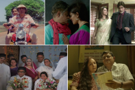 In this month of love, here's a look back at Hindi films focussed on elderly romance and relationships.