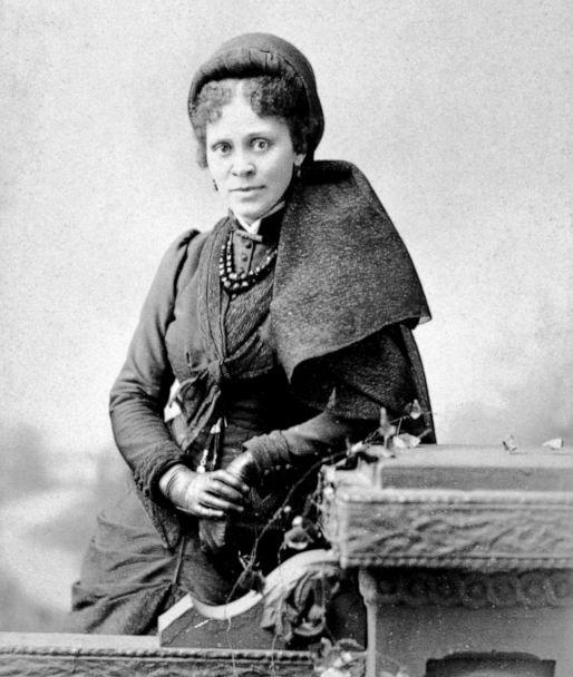 PHOTO: Educator, writer and activist Hallie Quinn Brown poses for a portrait, circa 1880s. (Universal Images Group via Getty Images)