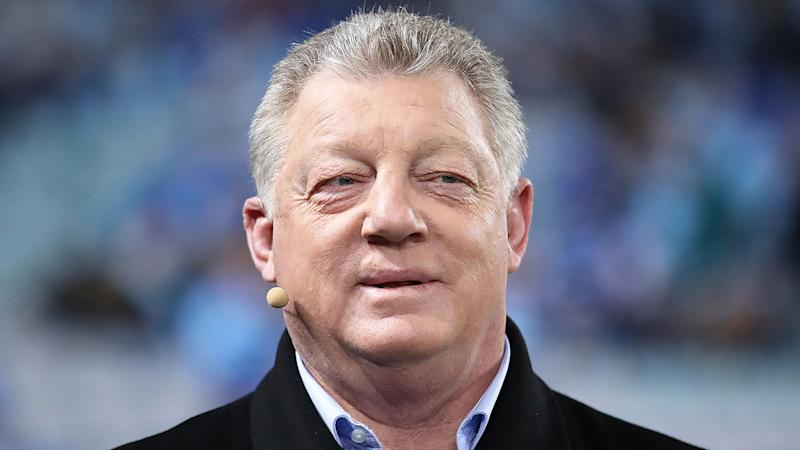 Pictured here, Phil Gould has responded to talk of him becoming NRL CEO.