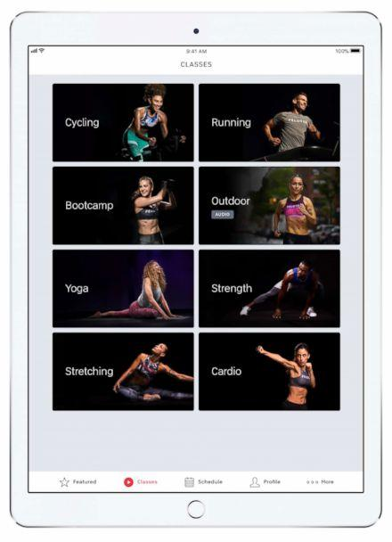 PHOTO: Peloton Digital gives you total body workouts you can take on the go with you. (Peloton Interactive, Inc)