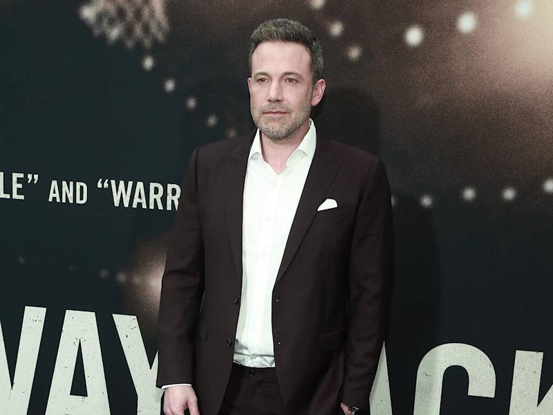 Ben Affleck's new movie helped him with alcoholism battle