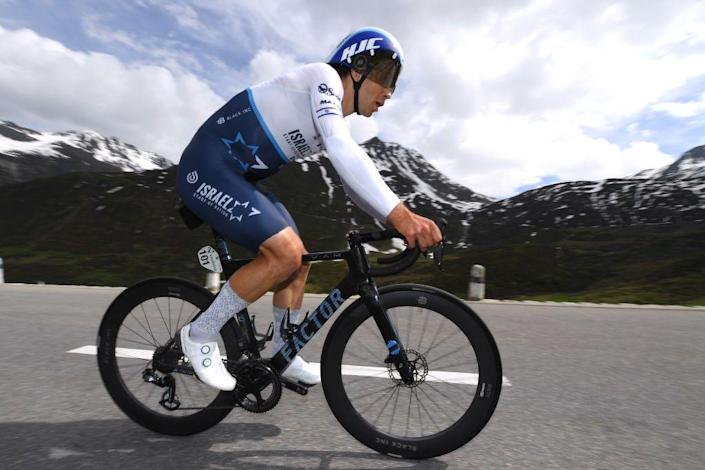 """<p>Like Bennett, Boivin is riding his first Tour de France; and like Houle, his compatriot, he'll play more of a supporting role, leading-out sprints for <a href=""""https://www.bicycling.com/racing/a20023869/andre-greipel-prepares-for-tour-de-france-with-a-rap-video/"""" rel=""""nofollow noopener"""" target=""""_blank"""" data-ylk=""""slk:Andre Greipel"""" class=""""link rapid-noclick-resp"""">Andre Greipel</a> and keeping Michael Woods (and Chris Froome) out of trouble. For Boivin, a Tour start is somewhat of a fitting reward: the 32-year-old Canadian's been with Israel Start-Up Nation since 2016, the team's second season in existence.</p>"""