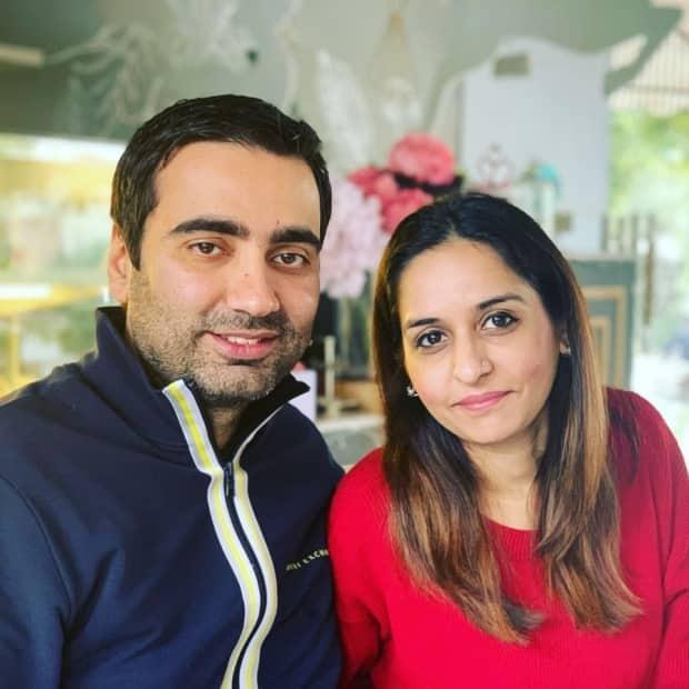 Ayesha Ali and her husband, Ali Mazhar, founded an online group where they could share halal food spots in Montreal. (Submitted by Ayesha Ali - image credit)
