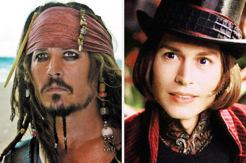 Both played by: Johnny Depp
