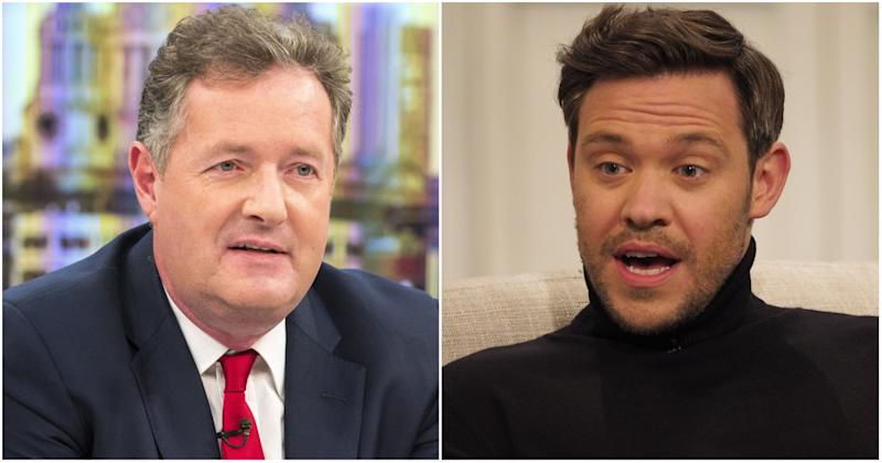 Piers Morgan faced a fierce backlash after he mocked Will Young's PTSD (Photo: Steve Meddle/Ken McKay/ITV/REX/Shutterstock)