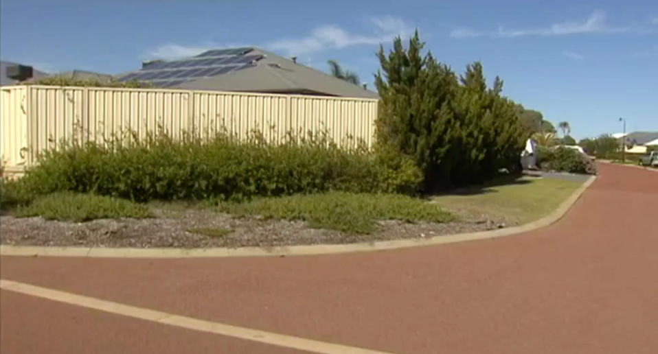 Bruised and shaken, the young Mandurah nurse was left stranded at an intersection. Source: 7 News