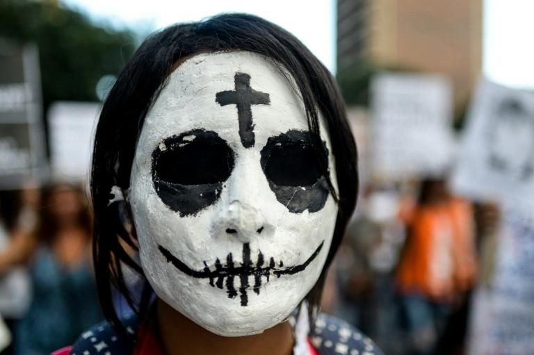"""The widespread rights abuses committed against protesters in Venezuela has left democracy """"barely alive"""", according to the UN"""