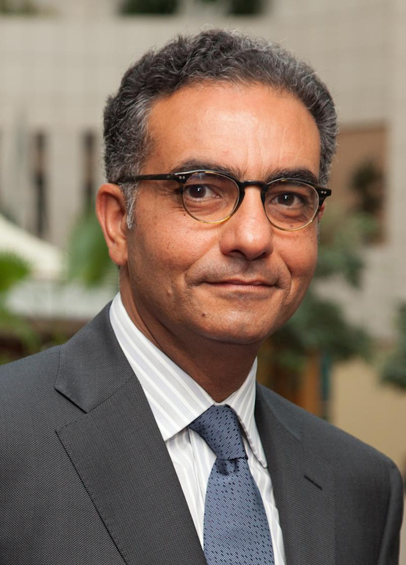 Fadi Chehade is seen in an undated photo made available by the Internet Corporation for Assigned Names and Numbers (ICANN) on Friday, June 22, 2012. Chehade, 50, will be the next CEO of ICANN, the company announced Friday.  He will replace former U.S. cybersecurity chief Rod Beckstrom as chief executive. (AP Photo/Internet Corporation for Assigned Names and Numbers)