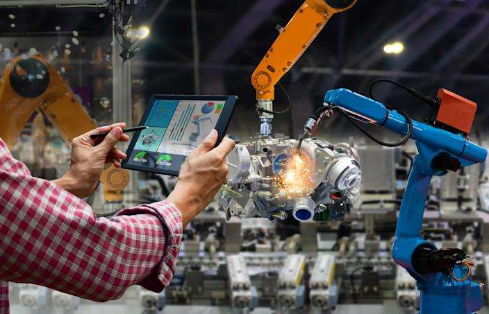45% of businesses said they would implement AI technologies in the next 12 months. Photo: Getty